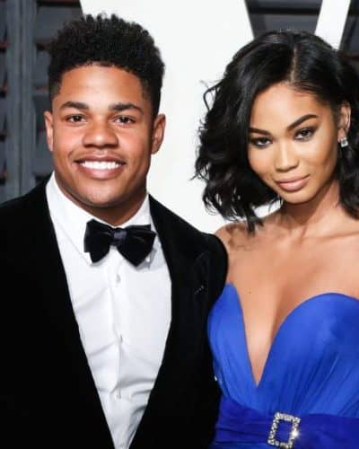 Chanel Iman is engaged to NY Giants Sterling Shepard!