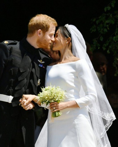The Day is Finally Here!  Meghan Markle & Prince Harry Are Married!